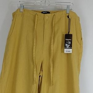 Definitions by d.jeans Linen Blend Mustard…